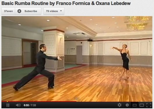 Basic Rumba Education - Ballroom Dance