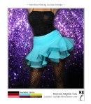 Ballroom Dance Skirt - Rhythm Tutu - Salsa