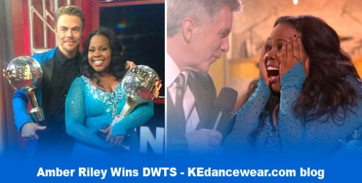 KEblog-Amber-Riley-Dancing-with-The-Stars---DWTS---Wins---Trophy---Ballroom-Dance-Competition