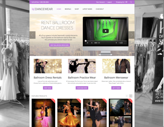Ballroom Dance Dress Rental-Marzena Stachura and Slawek Sochacki-LastDance